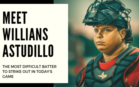 Meet Williams Astudillo, — the most difficult batter to strike out in today's game