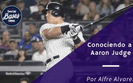 Aaron Judge bateando
