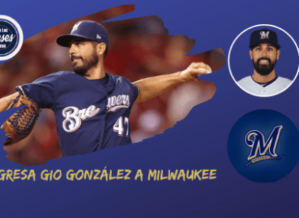 Regresa a Milwaukee Gio González