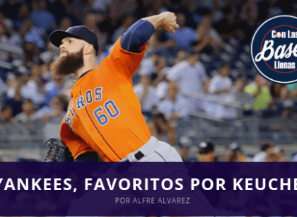 Yankees son los favoritos a llevarse a Dallas Keuchel