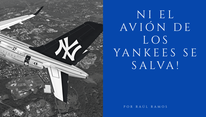 Avion de los Yankees