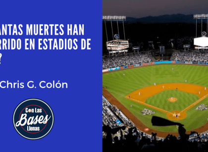 Accidentes fatales en estadios de MLB