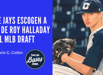 Blue Jays escogen a hijo de Roy Halladay en el MLB Draft