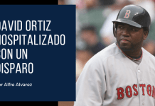 David Ortiz recibió un disparo