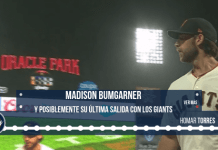 Madison Bumgarner y posible ultima salida con Giants