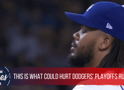 THESE NUMBERS TELL HOW KENLEY JANSEN COULD HURT DODGERS' PLAYOFF RUN