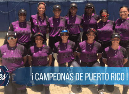 PRBAHS campeonas del Girls High School Softball Cup