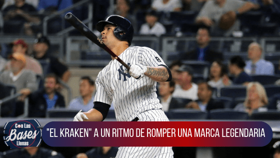 Gary Sanchez marca de home runs