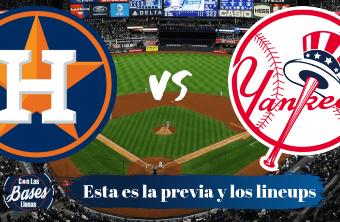 Previa y lineups Houston Astros vs New York Yankees ALCS juego 4