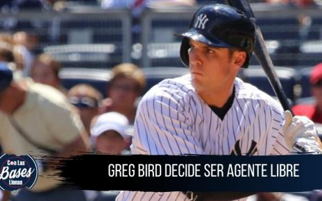 Greg Bird se niega a ir a Yankees