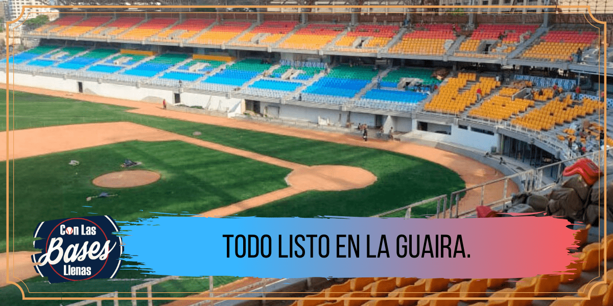 Estadio Forum La Guaira.