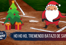 Santa Claus pega un home run
