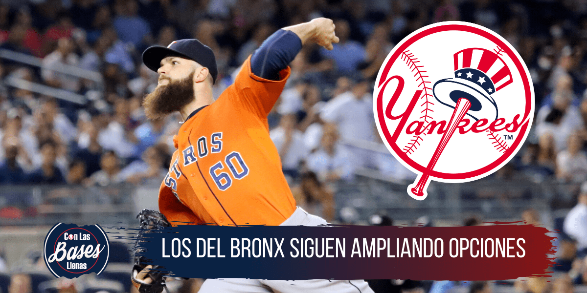 Yankees interesados en Dallas Keuchel