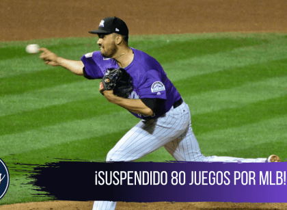 Justin Lawrence, pitcher de los Rockies, suspendido por la nMLB