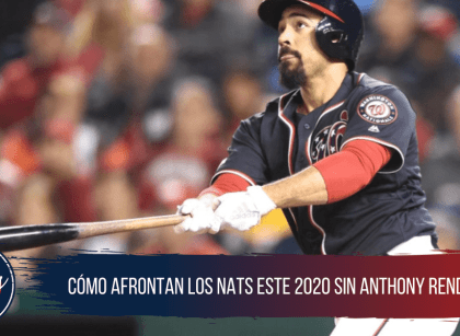 Reemplazos ofensivos y defensivos para Anthony Rendon en los Nats
