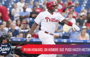 Ryan Howard tenía números y poder para superar a Barry Bonds