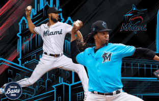 Jose Urena y Sandy Alcantara Miami Marlins