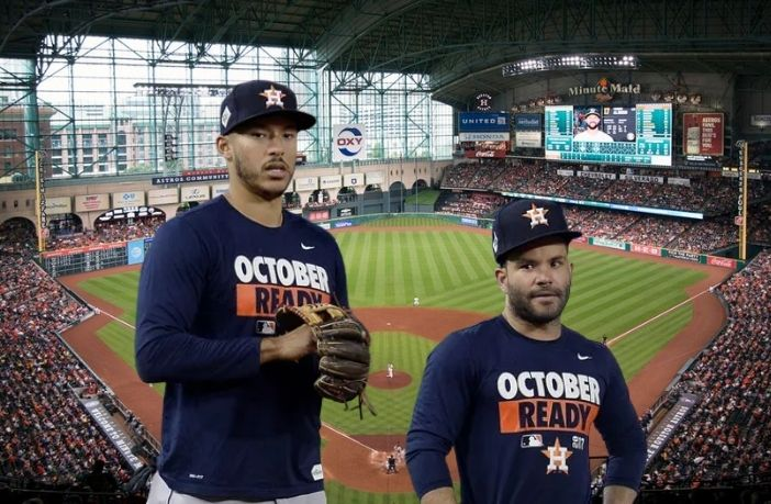 Posible lineup de los Astros de Houston. Foto cortesía