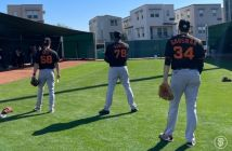 Los Gigantes de San Francisco vs Angelinos Spring Training 2021
