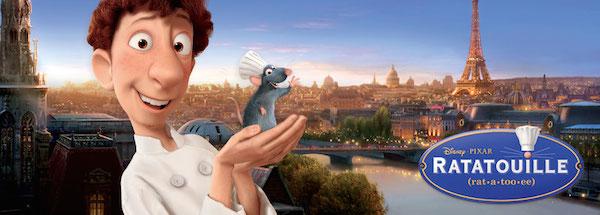 Ratatouille algo ms que una pelcula gastronoma con los cinco sentidos