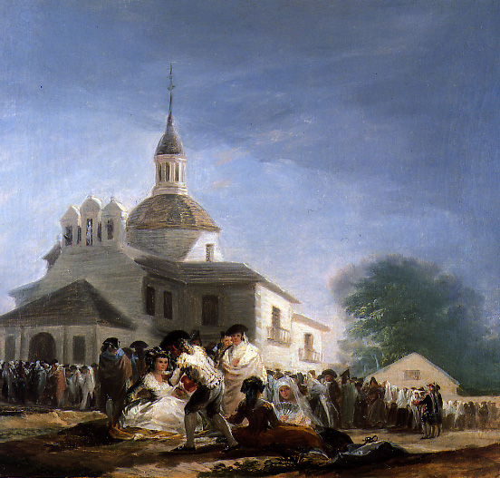 la ermita de san isidro Francisco de Goya