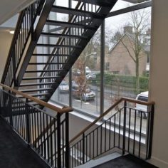 Trappenhuis met balustrade