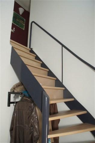 Voorzien van houten stootborden
