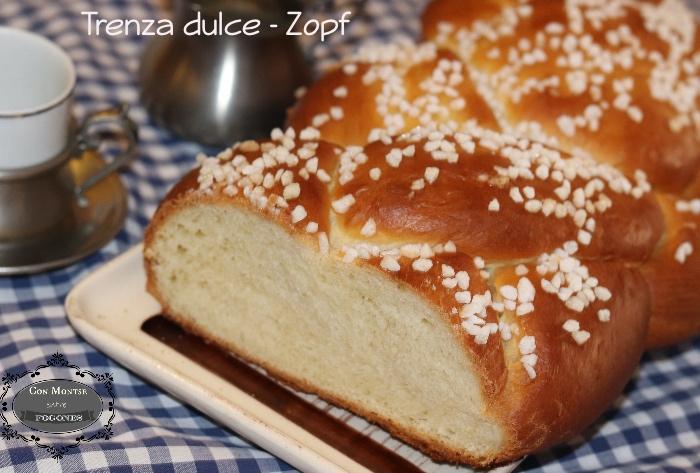 Trenza de pan dulce - Zopf