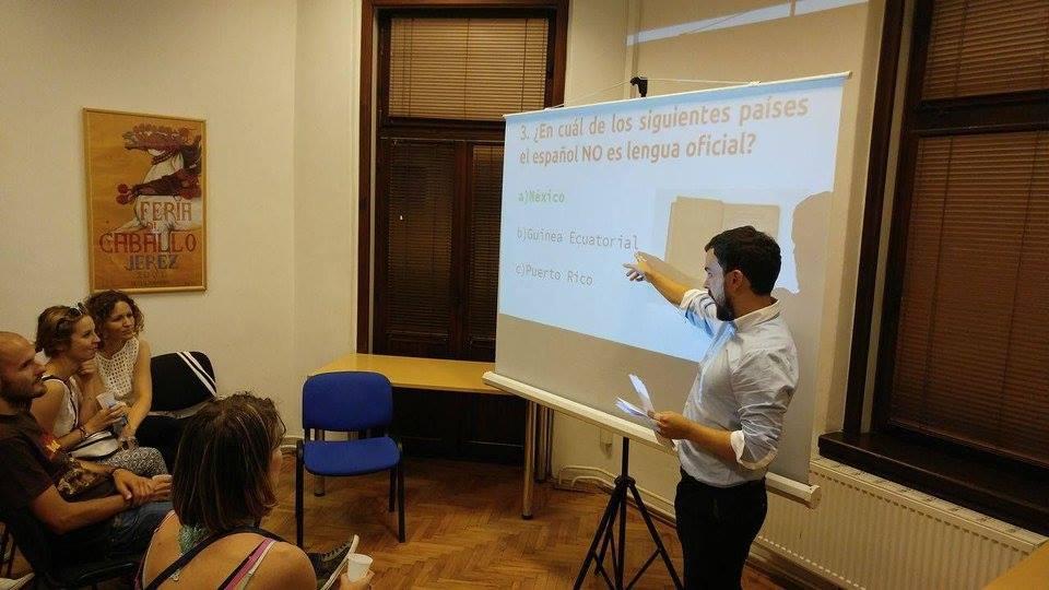 Soy profesor de español en el extranjero