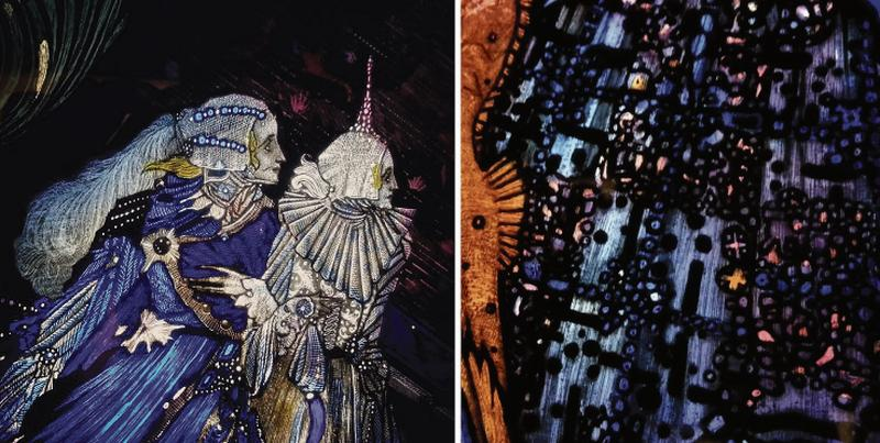 Image result for harry clarke st eve window
