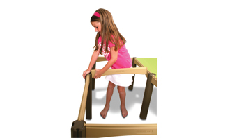 Child Assembling the Modular Activity Table