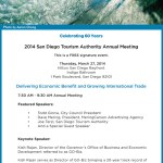 San Diego 2014 Annual Meeting Invitiation