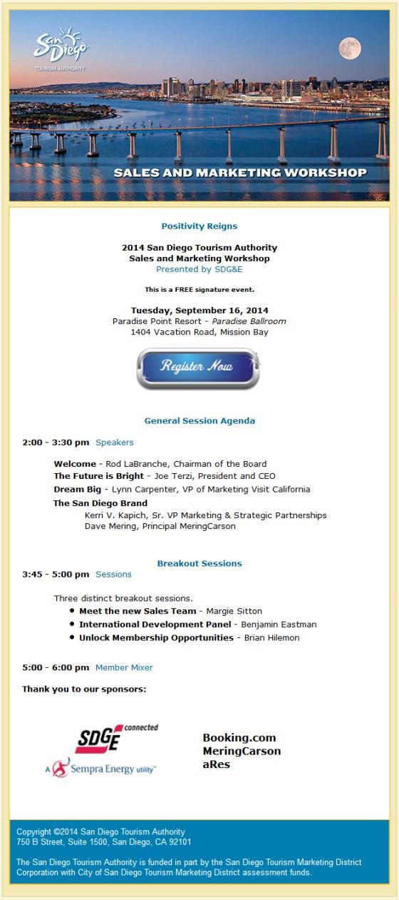 Sales and Marketing Workshop
