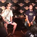 Riki Suzuki from San Diego Tourism Authority at Hard Rock in Japan