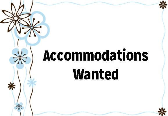 Wanted: 2 Bedroom Accommodation Near University of Waterloo