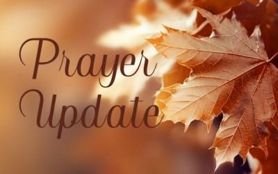 BIC Canada Prayer Update – November