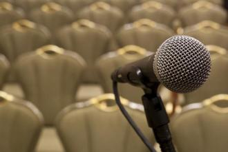 speaker mike
