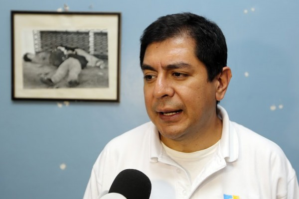 Guadalupe Ruelas de Honduras. Foto: Jaime Armando López.
