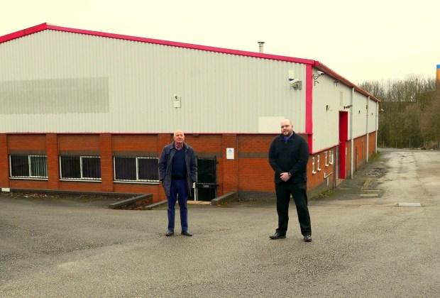 Allan Falconer (Legwear International Ltd) and Hugo Beresford (Salloway)_-b86dd7f2