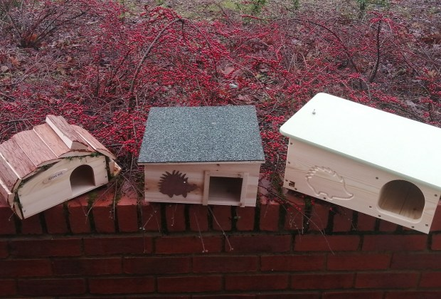 BN - Some of the different styles of hedgehog homes donated - sm-88a20c48