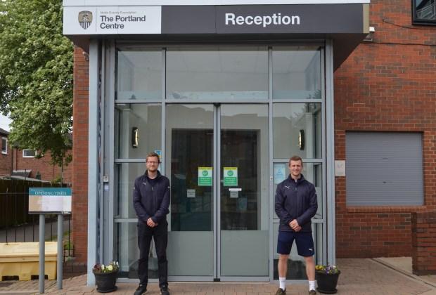 Notts County Foundation_Sam Crawford (L) & Chris Riley (R) 1-52072419