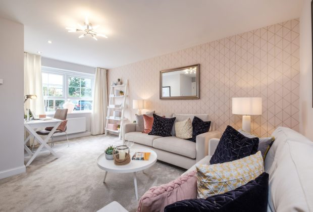 BWM - Typical lounge in the Maidstone style home-41a35548