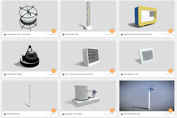 IoT Devices on SketchFab