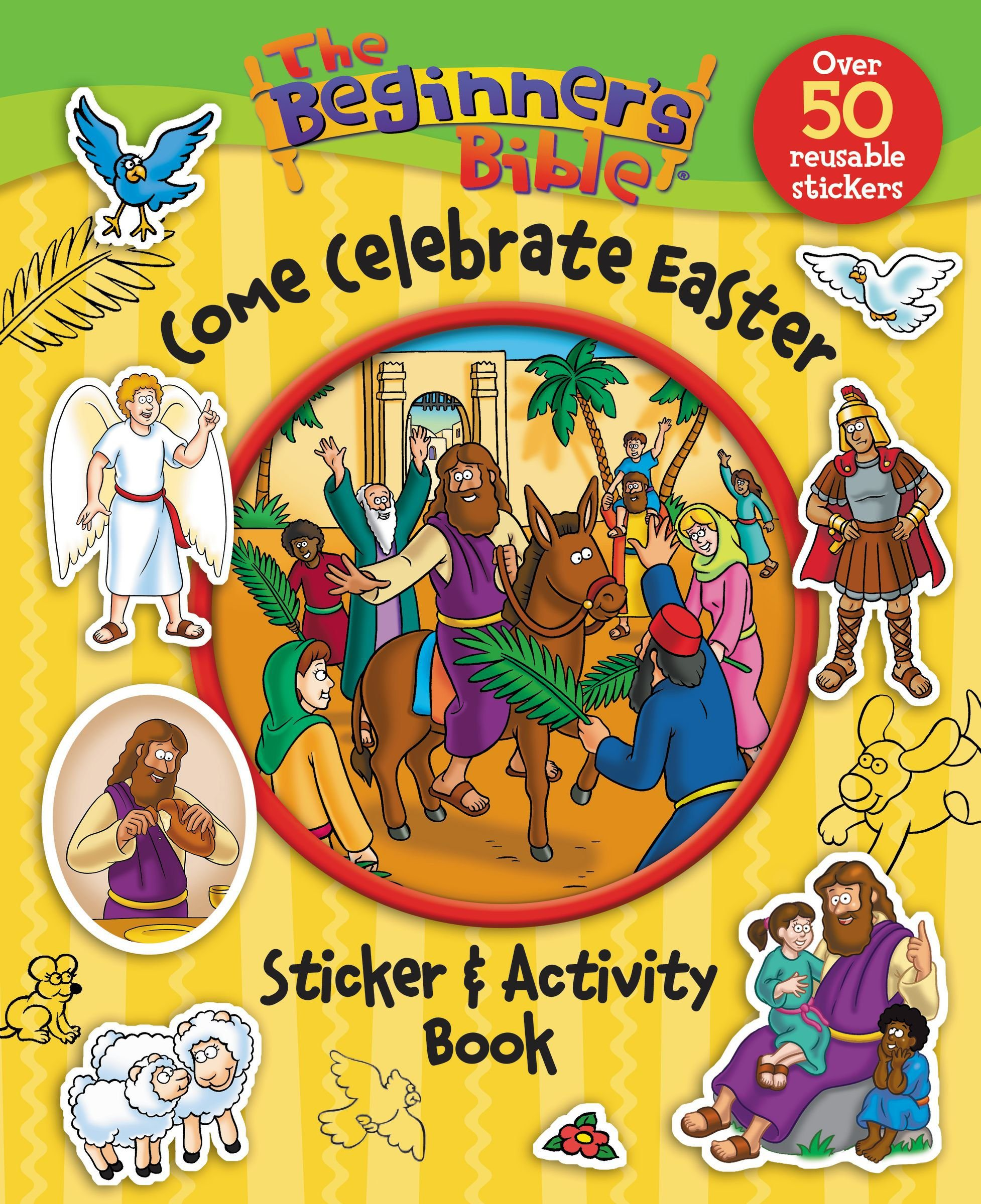 The Beginner S Bible Come Celebrate Easter Sticker And