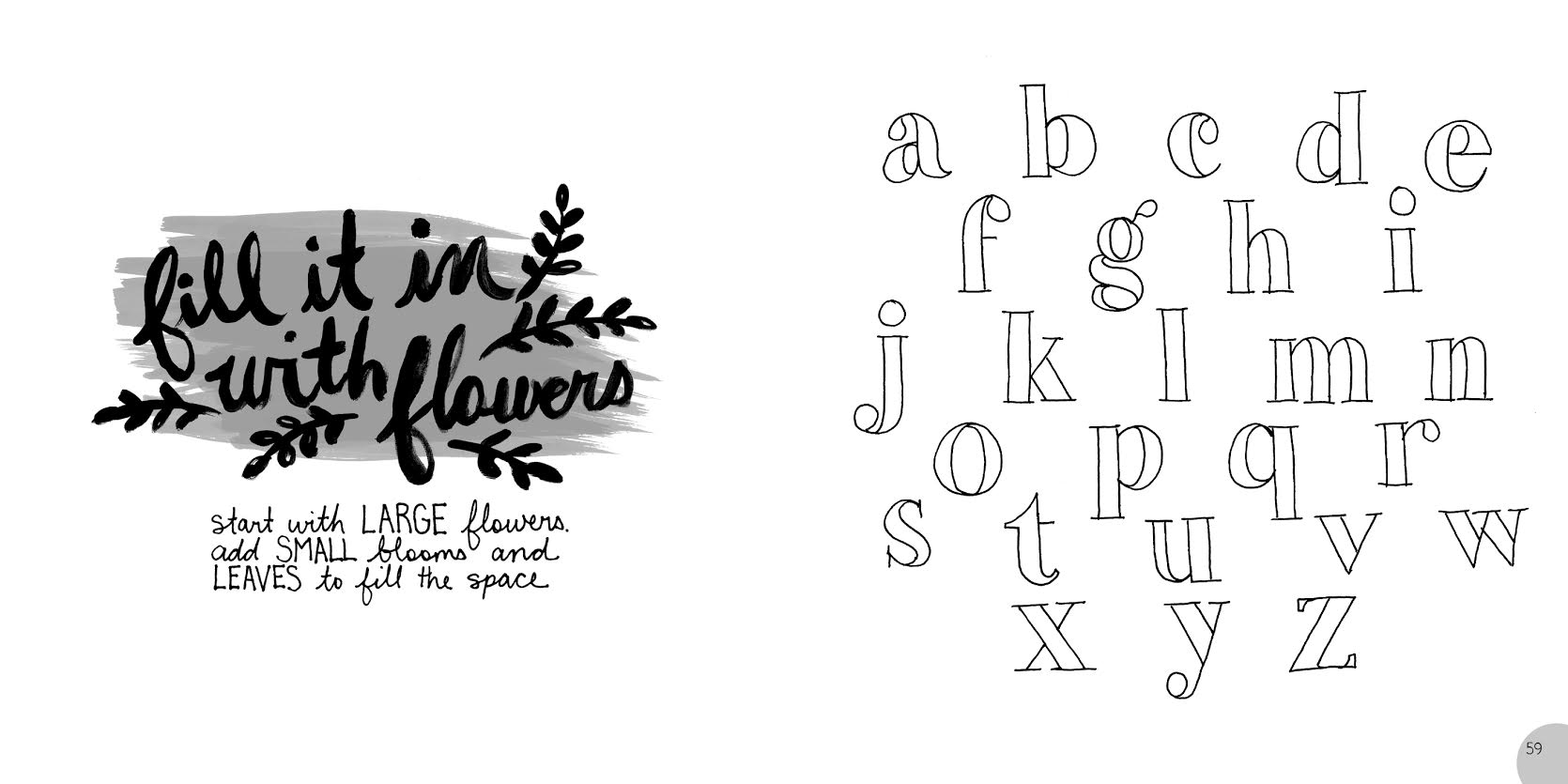The Botanical Hand-Lettering Workbook {Interview, Review