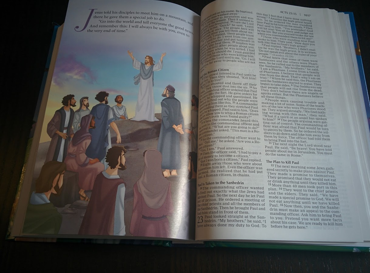 Once Upon A Time Storybook Bible Amp Holy Bible Review