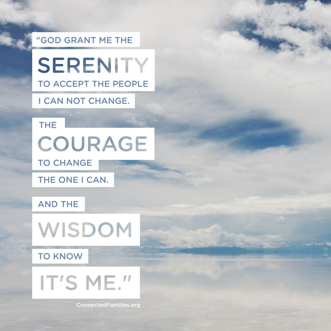 A New Serenity Prayer