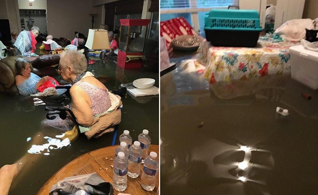 elder care during emergencies-nursing-home-flood