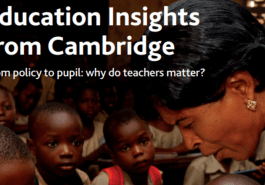 Education Insights - Why do teachers matter