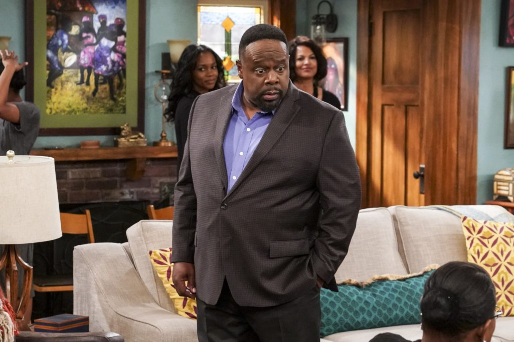 'Great That Show Caught Some Legs': Cedric The Entertainer On CBS's The Neighborhood